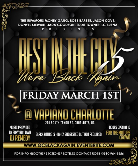 Upcoming Events – BEST IN THE CITY 5: WE'RE BACK AGAIN