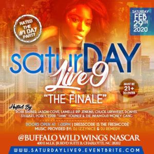 SATURDAY LIVE 9